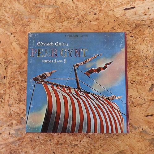 <再生確認済み>「 GRIEG : PEER GYNT SUITE / HAMBURG STAATSOPER ORCHESTRA 」 オープンリール 7号 ミュ