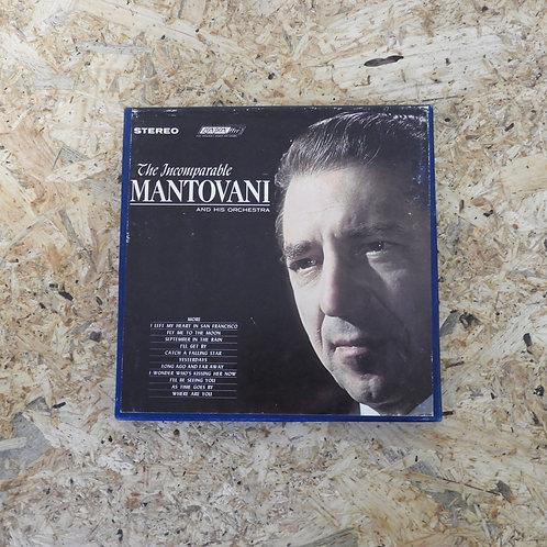 <再生確認済み>「 THE INCOMPARABLE MANTOVANI 」 マントヴァーニ オープンリール 7号 ミュージック テープ