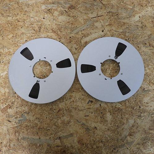 <状態未チェック> オープンリール テープ 10号 メタルリール 2本セット! 215