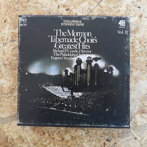 <再生確認済み>「 THE MORMON TABERNACLE CHOIR'S GREATEST HITS Vol.II 」 オープンリール 7号 ミュージック