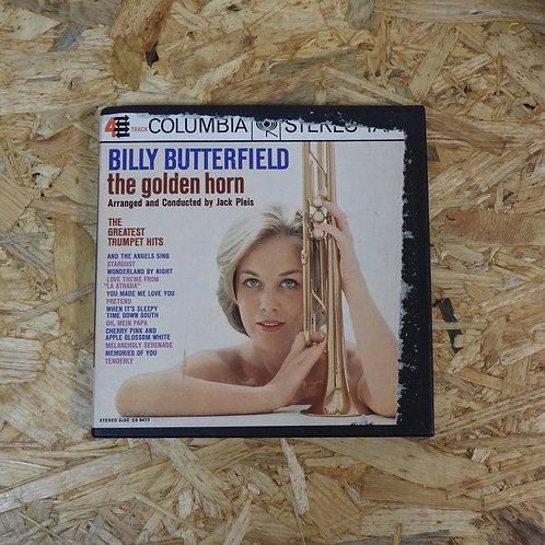 <再生確認済み>「 BILLY BUTTERFIELD THE GOLDEN HORN / JACK PLEIS 」 オープンリール 7号 ミュージック テープ