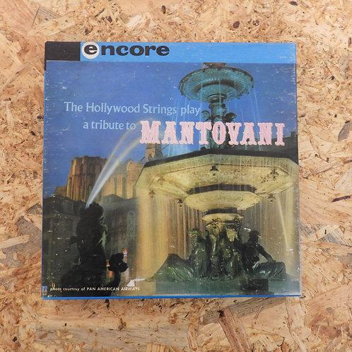 <再生確認済み>「 THE HOLLYWOOD STRINGS PLAY A TRIBUTE TO MANTOVANI 」 マントヴァーニ オープンリール 7号