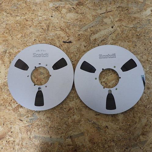 <状態未チェック> オープンリール テープ 10号 メタルリール 2本セット! 216