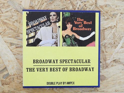 <再生確認済み>「 BROADWAY SPECTACUR / THE VERY BEST OF BROADWAY 」 オープンリール 7号 ミュージック テープ