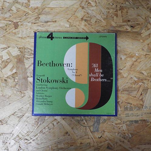 <再生確認済み>「 BEETHOVEN : SYMPHONY NO.9 〈CHORAL〉 / LEOPOLD STOKOWSKI 」 オープンリール 7号 ミュ
