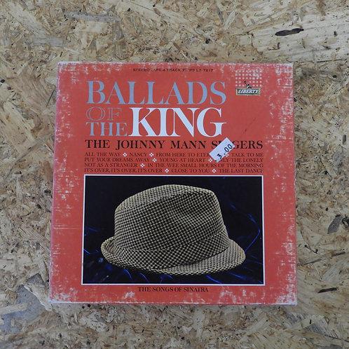 <再生確認済み>「 BALLADS OF THE KING - VOL.2 / THE JOHNNY MANN SINGERS 」 オープンリール 7号 ミュー