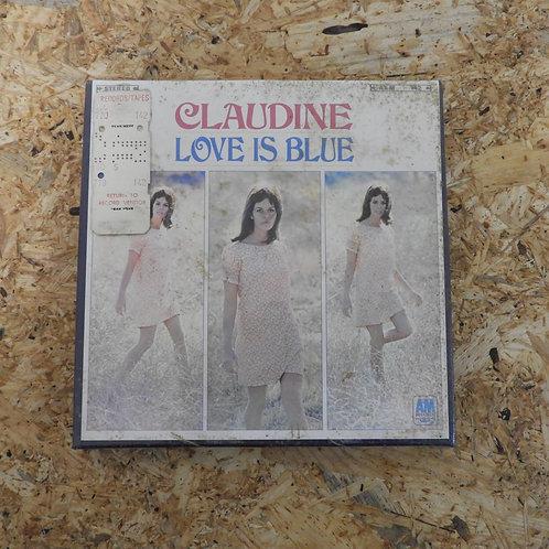 <未開封!>「 LOVE IS BLUE / CLAUDINE LONGET 」 オープンリール 7号 ミュージック テープ