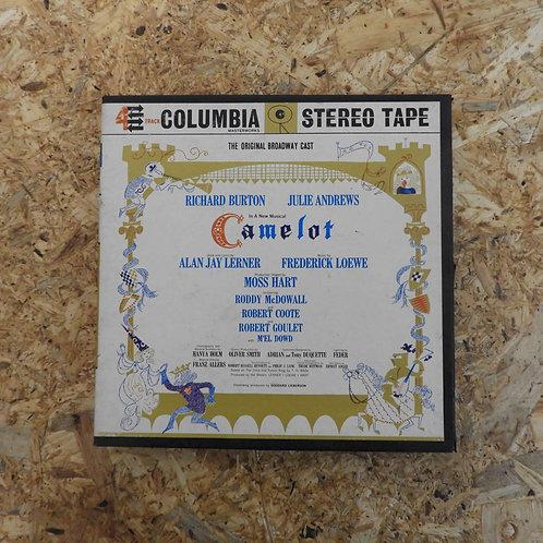 <再生確認済み>「 CAMELOT / ORIGINAL BROADWAY CAST 」 オープンリール 7号 ミュージック テープ