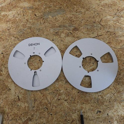 <状態未チェック> オープンリール テープ 10号 メタルリール 2本セット! 219