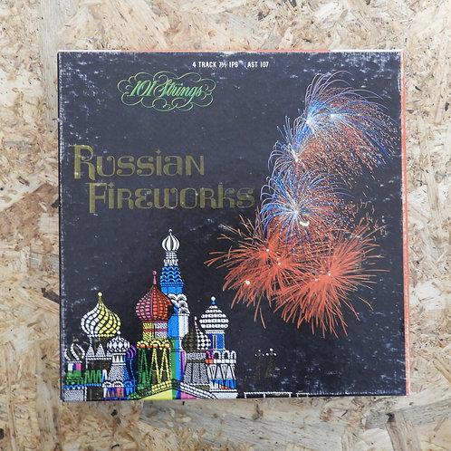 <再生確認済み>「 RUSSIAN FIREWORKS 」 オープンリール 7号 ミュージック テープ
