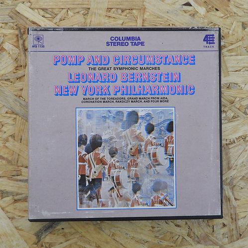 <再生確認済み>「 POMP AND CIRCUMSTANCE : LEONARD BERNSTEIN 」 オープンリール 7号 ミュージック テープ