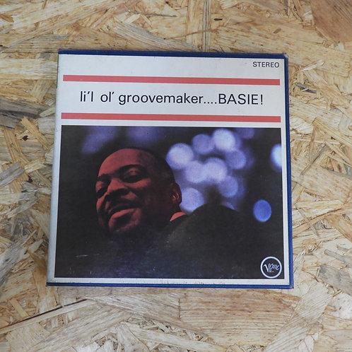 <再生確認済み>「 LI'L OL' GROOVEMAKER ... BASIE ! / COUNT BASIE 」 カウント ベイシー オープンリール 7号