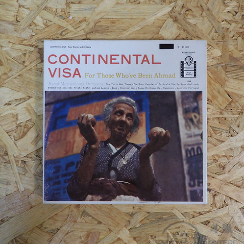 <再生確認済み>「 CONTINENTAL VISA / RAOUL MEYNARD 」 オープンリール 7号 ミュージック テープ