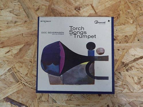 <再生確認済み・訳あり品>「 TORCH SONGS FOR TRUMPET / DOC SEVERINSEN 」 オープンリール 7号 ミュージック テープ