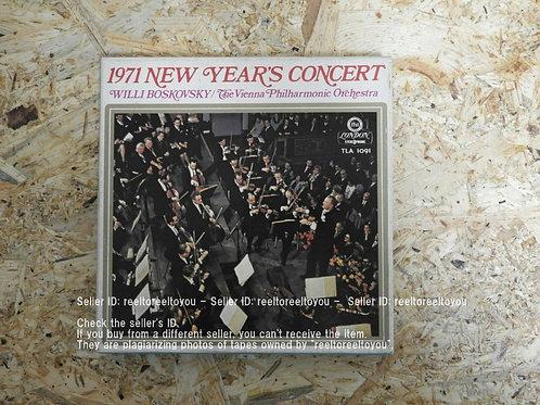 1971年 ニューイヤーコンサート / ウィリー・ボスコフスキー