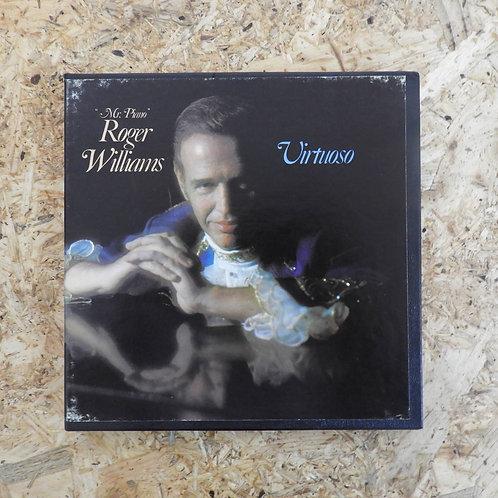 """<再生確認済み>「 VIRTUOSO : """"MR. PIANO"""" ROGER WILLIAMS 」 オープンリール 7号 ミュージック テープ"""