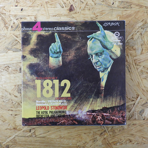 <再生確認済み>「 TCHAIKOVSKY : 1812 」チャイコフスキー オープンリール 7号 ミュージック テープ