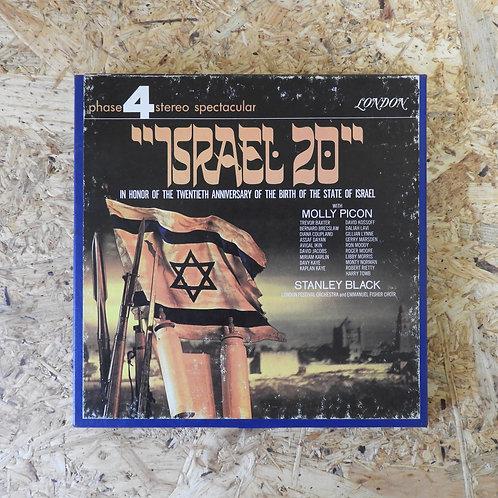 <再生確認済み>「 ISRAEL 20 / STANLY BLACK 」 オープンリール 7号 ミュージック テープ
