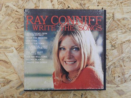 <再生確認済み>「 RAY CONNIFF / I WRITE THE SONGS 」 オープンリール 7号 ミュージック テープ