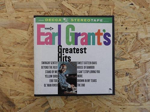 <再生確認済み>「 EARL GARANT'S GREATEST HITS 」 オープンリール 7号 ミュージック テープ