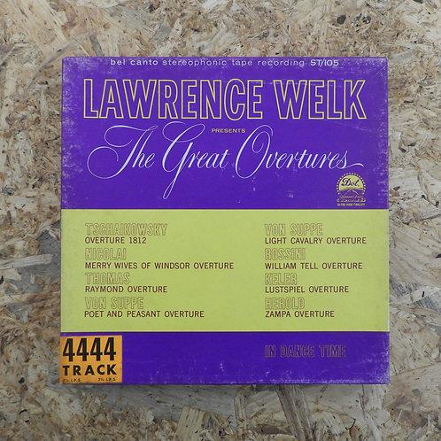 <再生確認済み>「 LAWRENCE WELK PRESENTS THE GREAT OVERTURES 」 オープンリール 7号 ミュージック テープ