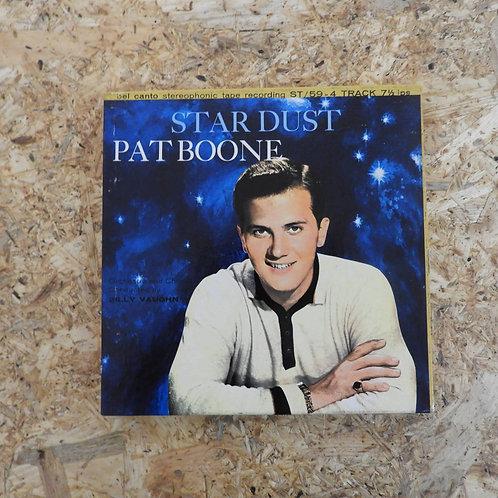 <再生確認済み>「 STAR DUST / PAT BOONE 」 オープンリール 7号 ミュージック テープ