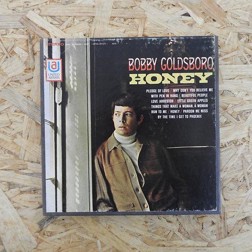 <再生確認済み>「 BOBBY GOLDSBORO / HONEY 」 オープンリール 7号 ミュージック テープ