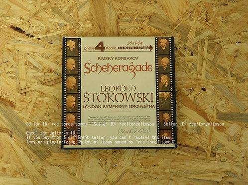 KORSAKOV : SCHEHERAZADE / LEOPOLD STOKOWSKI