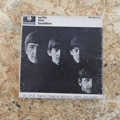 <再生確認済み>「 WITH THE BEATLES / THE BEATLES 」 ビートルズ オープンリール 5号 ミュージック テープ MONO