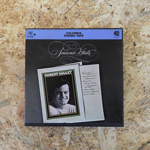 <再生確認済み>「 ROBERT GOULET / SOUVENIR D'ITALIE 」 オープンリール 7号 ミュージック テープ