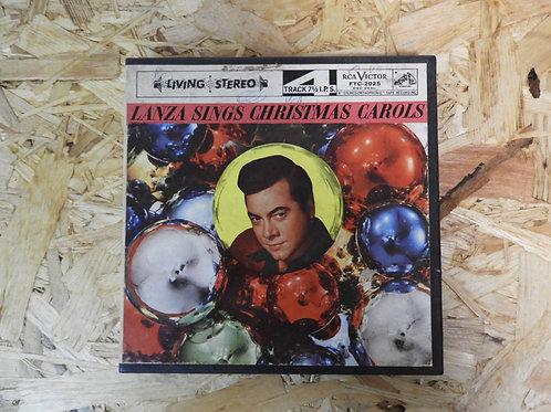 <再生確認済み>「 LANZA SINGS CHRISTMAS CAROLS 」 オープンリール 7号 ミュージック テープ