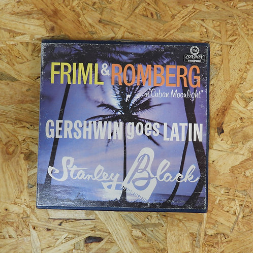 <再生確認済み>「 STANLEY BLACK , HIS PIANO & LATIN AMERICAN RHYTHMS 」 オープンリール 7号 ミュージック