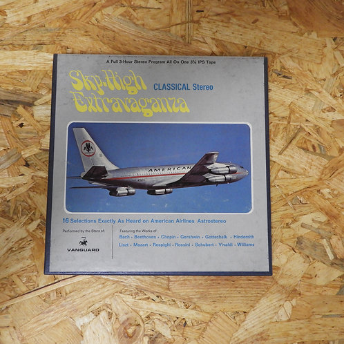<再生確認済み>「 AMERICAN AIRLINES ASTROSTEREO CLASSICAL PROGRAM NO.211 」 V.A. オープンリール