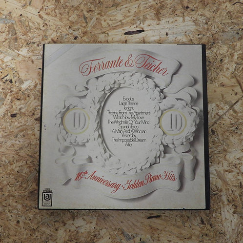 <再生確認済み>「 10TH ANNIVERSARY OF GOLDEN PIANO HITS / FERRANTE & TEICHER 」 オープンリール 7