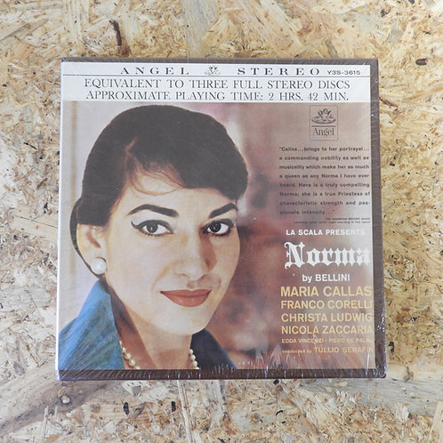 <未開封!>「 NORMA / BELLINI 」 オープンリール 7号 ミュージック テープ