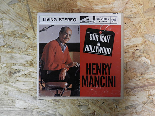 <再生確認済み>「 HENRY MANCINI / OUR MAN IN HOLLYWOOD 」 オープンリール 7号 ミュージック テープ