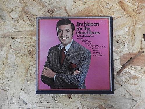 <再生確認済み>「 JIM NABORS FORE THE GOOD TIMES 」 オープンリール 7号 ミュージック テープ
