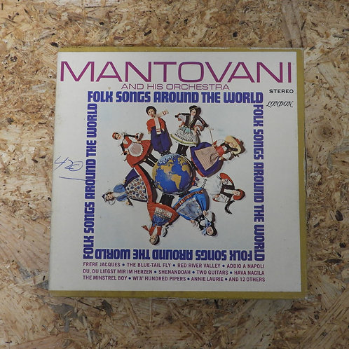 <再生確認済み>「 Folk Songs Around The world / MANTOVANI AND HIS ORCHESTRA 」 マントヴァーニ オー