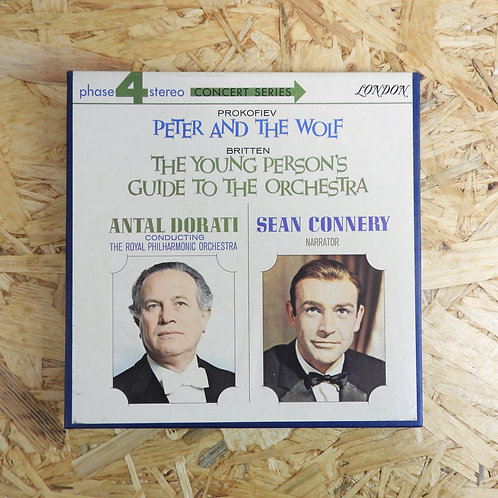 <再生確認済み>「 PROKOFIEV:PETER AND THE WOLF / BRITTEN:THE YOUNG PERSON`S GUIDE TO THE