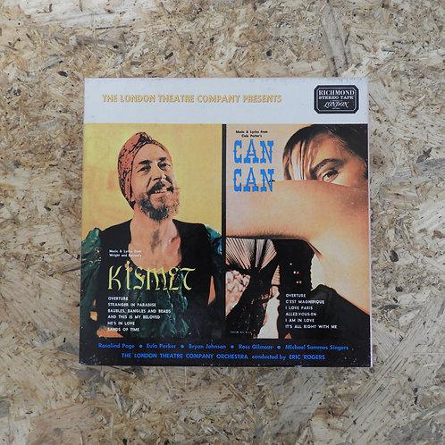 <再生確認済み>「 KISMET / CAN CAN 」 オープンリール 7号 ミュージック テープ