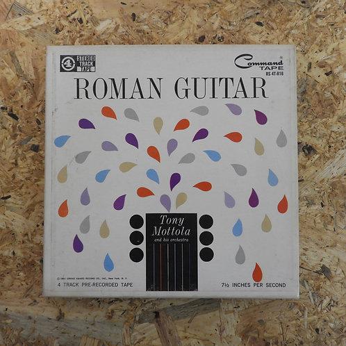 <再生確認済み>「 ROMAN GUITAR / TONY MOTTOLA AND HIS ORCHESTRA 」 オープンリール 7号 ミュージック テープ