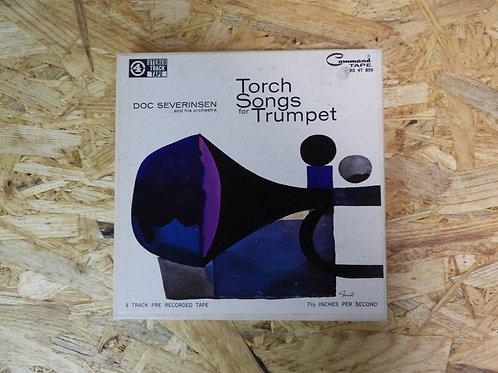 <再生確認済み>「 TORCH SONGS FOR TRUMPET / DOC SEVERINSEN AND HIS ORCHESTRA 」 オープンリール 7
