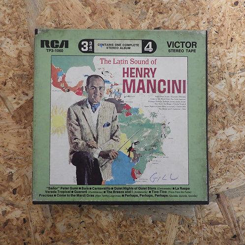 <再生確認済み>「 THE LATIN SOUND OF HENRY MANCINI 」 オープンリール 7号 ミュージック テープ
