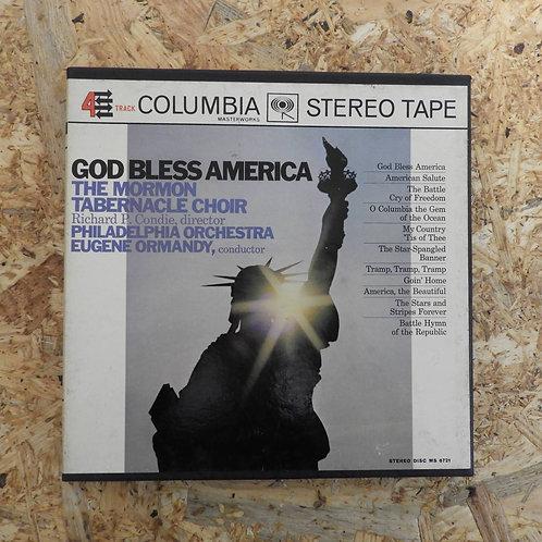 <再生確認済み>「GOD BLESS AMERICA」オープンリール 7号 ミュージック テープ
