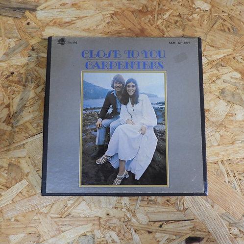 <再生確認済み>「 CLOSE TO YOU / CARPENTERS 」 オープンリール 7号 ミュージック テープ