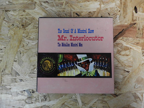 <再生確認済み>「 MR. INTERLOCUTOR / THE MEDALLION MINSTREL MAN 」 オープンリール 7号 ミュージック テープ