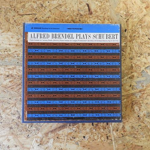 <再生確認済み>「 ALFRED BRENDEL PLAY SCHUBERT 」 オープンリール 7号 ミュージック テープ