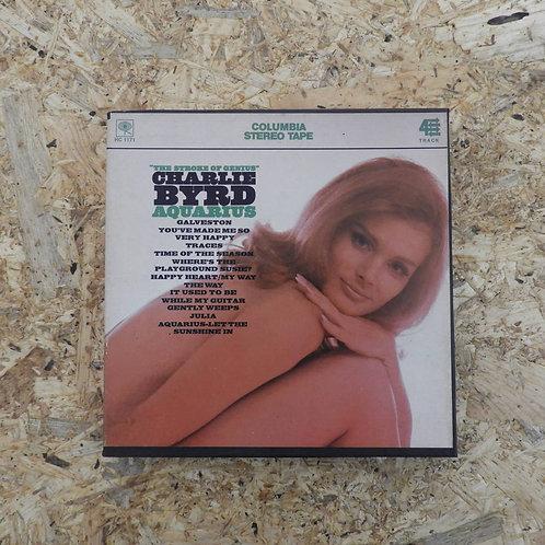 <再生確認済み>「 AQUARIUS / CHARLIE BYRD 」 オープンリール 7号 ミュージック テープ