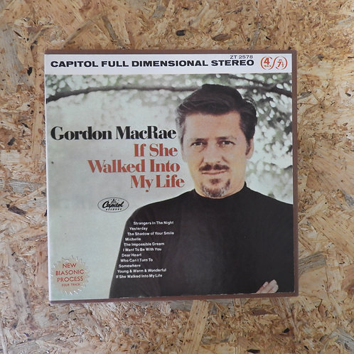 <再生確認済み>「 IF SHE WALKED INTO MY LIFE / GORDON MACRAE 」 オープンリール 7号 ミュージック テープ