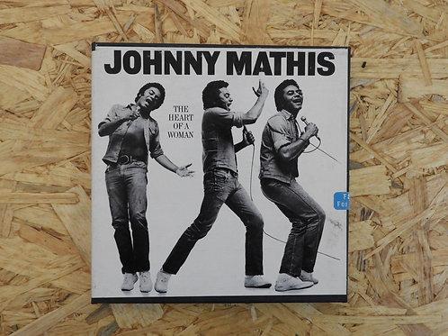 <再生確認済み>「 JOHNNY  MATHIS / THE HEART OF A WOMAN 」 オープンリール 7号 ミュージック テープ